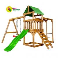 Встречайте обновленную серию бюджетных детских площадок для дачи!