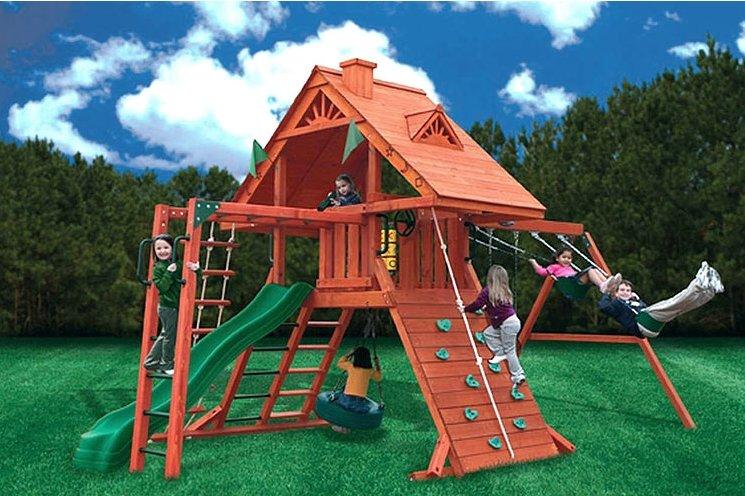 Проект детского комплекса для дачи