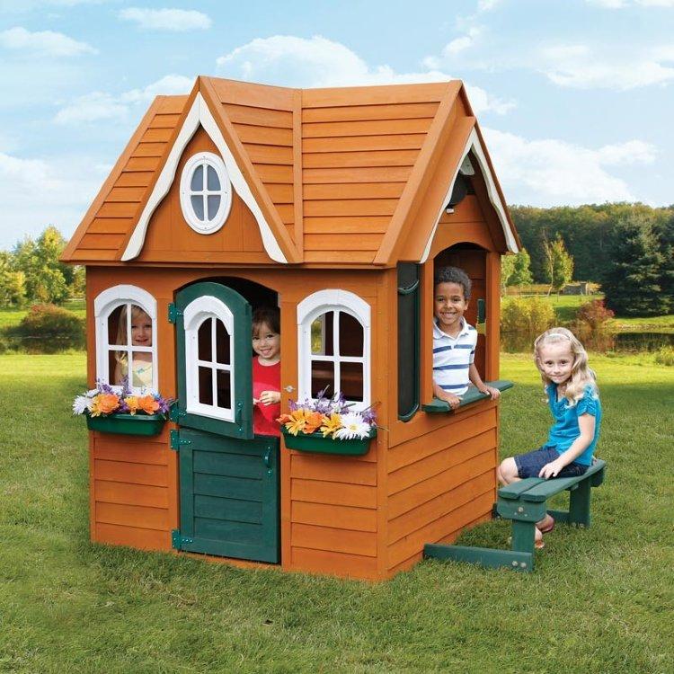 Игровые домики для детей из дерева