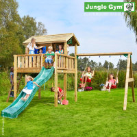 Игровой городок  Jungle Playhouse XL+SwingModule Xtra