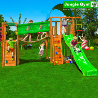 Игровой комплекс Jungle Villa+BridgeModule