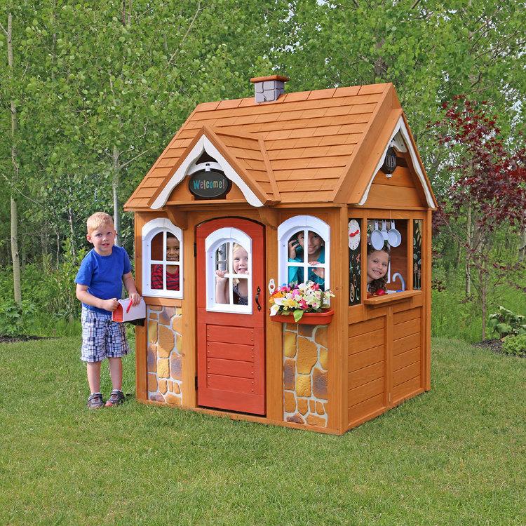 Летний домик для детей